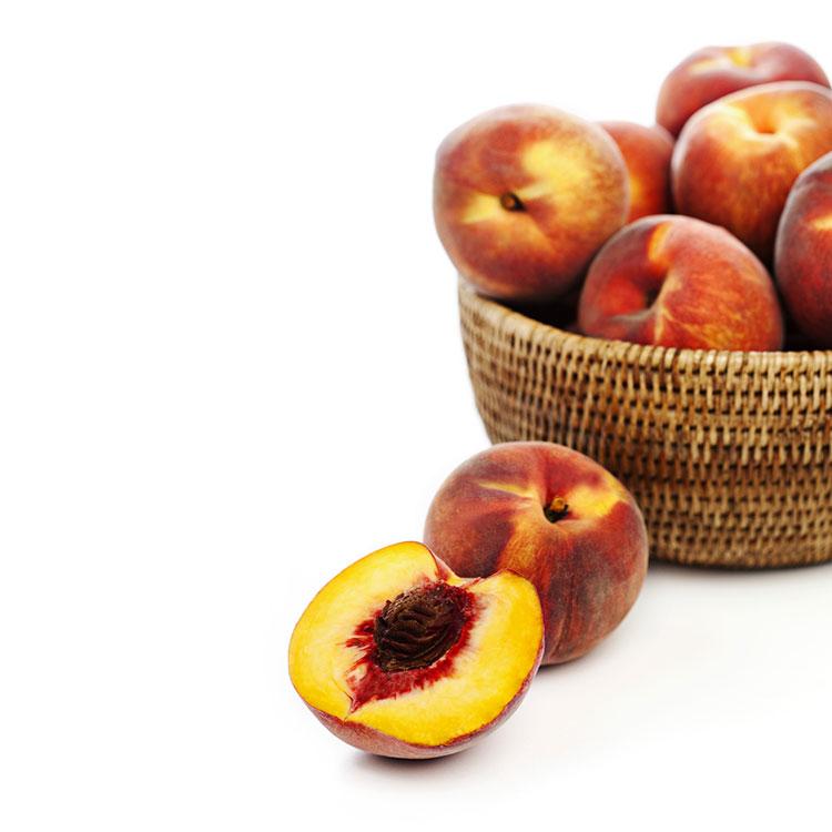 fotografia-alimentacion-melocotón-mínimal-publicitaria-fruta-feria-barcelona